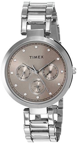 Timex Analog Pink Dial Women's Watch-TW000X212