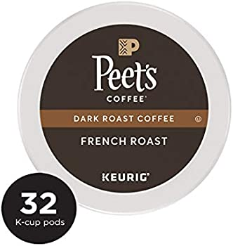 Peet's Coffee 32 Count French Roast Dark Roast K-Cup Coffee Pods