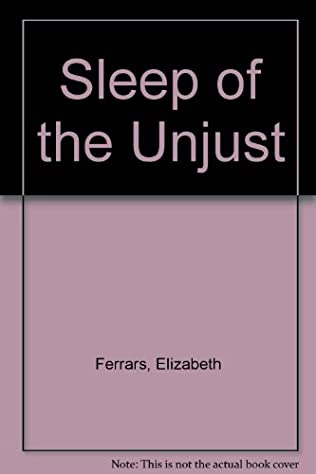 book cover of Sleep of the Unjust