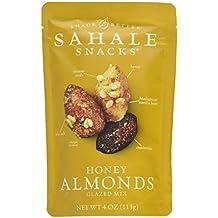 Sahale Almond Mix, Cranberries, Honey, and Sea Salt, 4 Oz