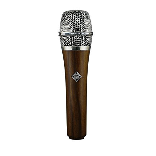 Telefunken M80 | High-Quality Hand-Held Cardioid Microphone Custom Finish Dynamic Series with Wider Frequency Response and Higher-than-Normal SPL Capabilities (Cherry)