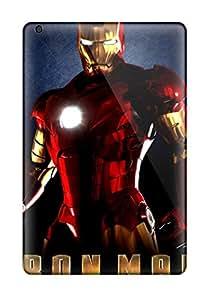 Cute Appearance Cover/tpu UySkdom8888rXJtv Iron Man The Movie Ironman Comic Movies Action Fantasy Marvel Entertainment People Movie Case For Ipad Mini/mini 2