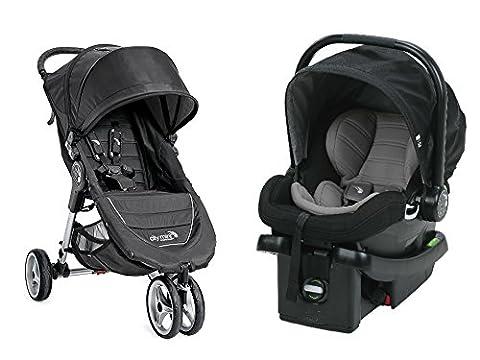 Baby Jogger 2017 City Mini Travel System, Black