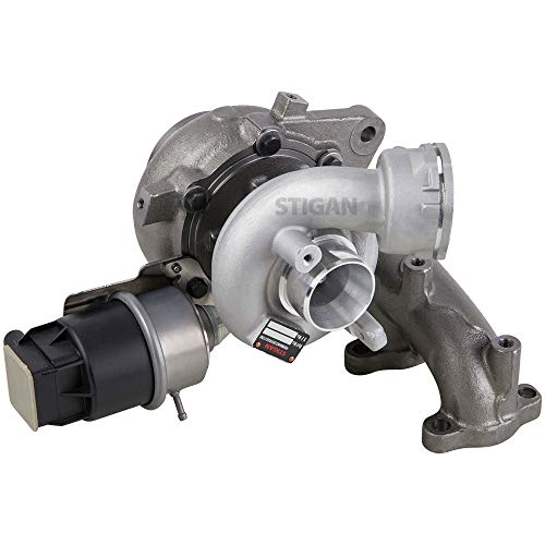 Tdi Turbo Diesel - New Stigan Turbo Turbocharger w/Actuator For Volkswagen VW Jetta TDI 1.9 Diesel Mk5 BRM 2005 2006 Replaces 038253014Q - Stigan 847-1478 New