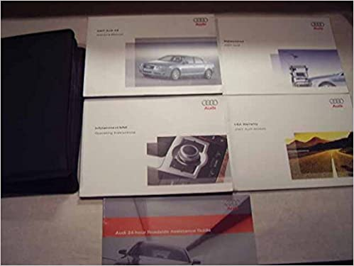 2007 audi a6 owners manual audi amazon books fandeluxe Choice Image