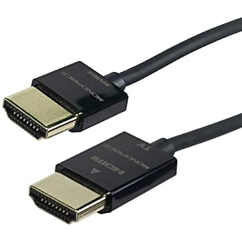 12ft Ultra Slim HDMI w// Redmere Technology M//M Audio Video TV Cable w// Ethernet