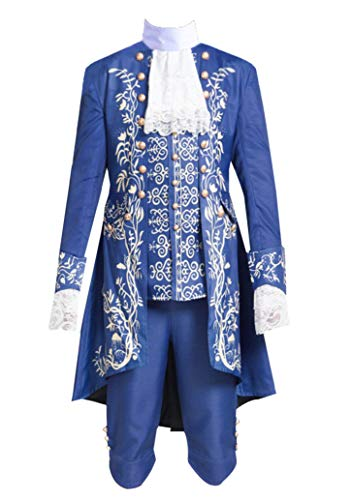 ZYHCOS Adult/Child Prince Beast Halloween Party Dress Costume New Version (Male-L) -
