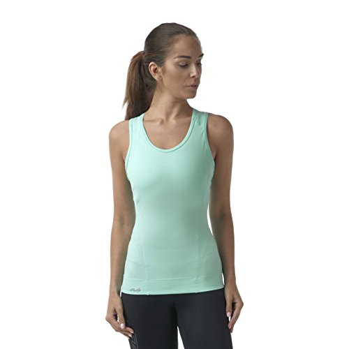 Sub Sports Womens Racer Back Vest Compression Top Sleeveless Tank Running -M (Womens Tank Racer Team)