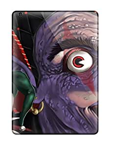 Awesome Design Evil Jester Dark Clown Abstract Dark Hard Case Cover For Ipad Air