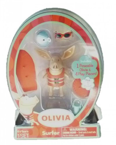 Olivia the Pig Mini Figure Surfer by Spin Master