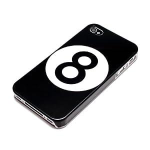 deinPhone Apple iPhone 4 4S HARDCASE Hülle Case Billard Kugel