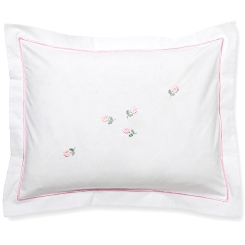 Jacaranda Living Baby Boudoir Pillow, Rosebuds