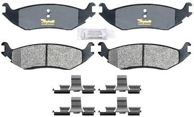 RMブレーキは、ハードウェアと半金属ディスクブレーキパッドセットをATD967M   B00AZULOE6