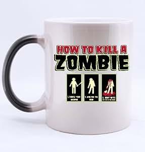 How To Kill A Zombie Morphing Mug 11 Ounce