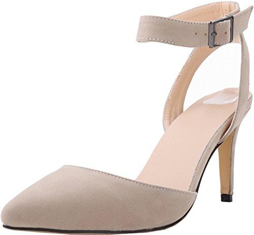 color correa carne tobillo Zapatos CFP de mujer con 1qczfnHY