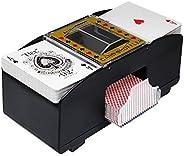 NEREIDS NET Playing Card Shuffler (2-Deck), Bridge Game Battery-Operated Electric Shuffler, Automatic Poker Sh