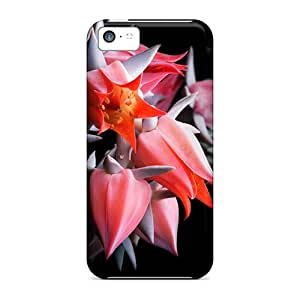 Hot Tpu Cover Case For Iphone/ 5c Case Cover Skin - Beautiful Cactus