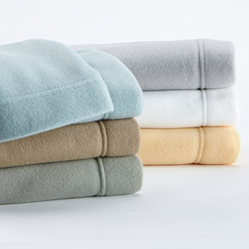 Maya Collection Super Soft Extra Plush Polar Fleece Sheet Set. Cozy, Warm, Durable, Smooth, Breathable Winter Sheets in Solid Colors. by Home Fashion Designs Brand.