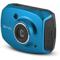 SportsCam EVH528 Digital Camcorder - 2.4 - Touchscreen LCD - CMOS - Full HD - Blue