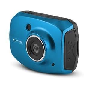 "SportsCam EVH528 Digital Camcorder - 2.4"" - Touchscreen LCD - CMOS - Full HD - Blue"