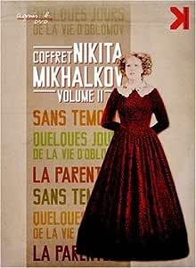 Nikita Mikhalkov - Volume Two - 3-DVD Set ( Neskolko dney iz zhizni I.I. Oblomova / Rodnya / Bez svideteley ) ( A Few Days from the Life of I.I. Oblomov [ NON-USA FORMAT, PAL, Reg.2 Import - France ]