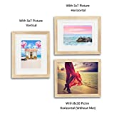 ENGLANT 8x10 Picture Frame Wood Photo Frame for