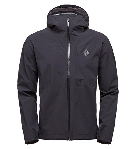 Black Diamond Fineline Stretch Rain Shell Jacket - Men's Black - Stretch Shell Jacket