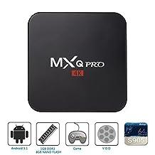 MXQ PRO 4K Android 5.1 Smart TV Box Amlogic S905 64 Bit Quad-Core Supports HDMI 2.0 H. 265 Hardware Decording WIFI