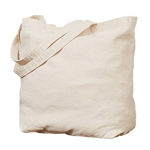 CafePress–Reverse Color punto So I Don 't Kill Tote Bag–Natural gamuza de bolsa de lona bolsa, bolsa de la compra
