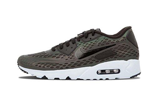 Nike Mens Air Max 90 Ultra Moire Qs, Profondo Peltro / Nero-focena, 9,5 M Us