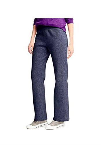 Hanes Womens ComfortBlend Fleece Sweatpants (XL, Navy Heather)