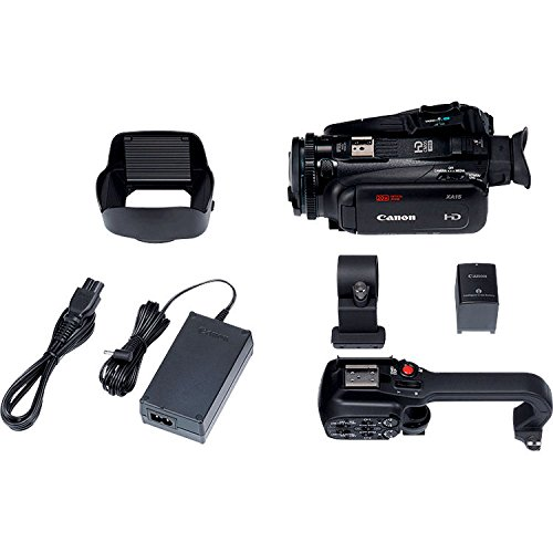 Canon XA11 Compact Professional Camcorder - Full HD with HDMI and Composite Output - Bundle with 64GB Memory Card + More by Canon (6AVE) (Image #4)