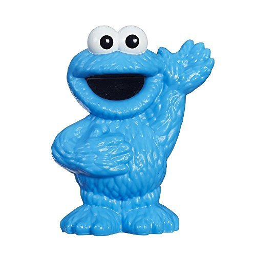 Sesame Street, Cookie Monster Figure, 3 Inches