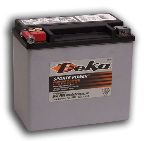 Deka Sports Power ETX14 Battery (Agm Deka Batteries)