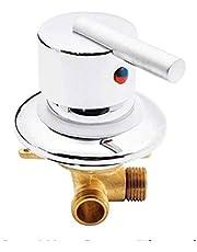 SR-CN Unidirectionele Gear uitgang voor warm en koud waterkraan, van messing, mengkraan voor badkamer