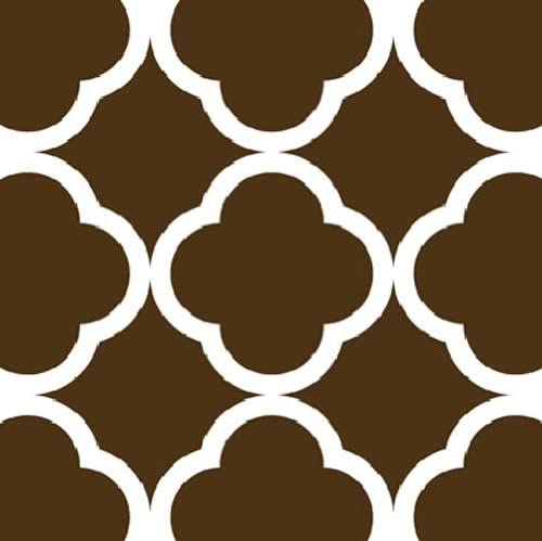 Large Quatrefoil Wall Stencil: Amazon.ca: Home & Kitchen