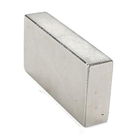 32.2kg Pull 50 x 25 x 10mm Powerful N42 Neodymium Magnet Pack of 1