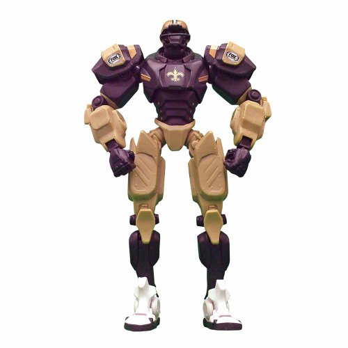 NFL New Orleans Saints Fox Sports Team Robot, 10-inches