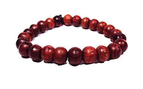Asian Hippie Wristband Wooden Prayer Ball Thai Bracelet Vintage Style Fashion