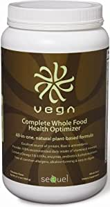 Sequel Naturals Vega Complete Whole Food Health Optimizer Chocolate -- 37.8 oz