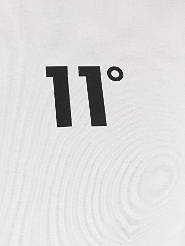 Manga Blanco Larga Larga Camiseta Hombre Degrees De Con 11 IqB80xwO