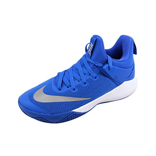 aa8610e3db85 Nike Womens Zoom Shift Tb Low Top Lace Up Basketball Shoes