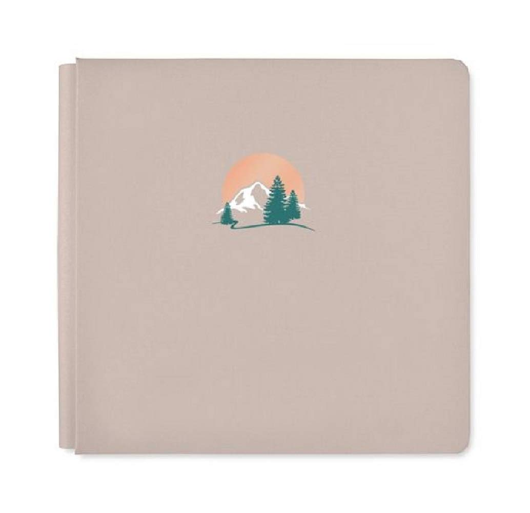 12x12 Clay Great Escape Mountain Album Scrapbook Cover True Size by Creative Memories