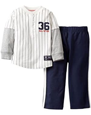 Carters Baby Boys' All Star Pant Set