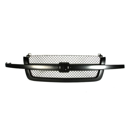 CarPartsDepot Grille Assembly Front Black Gray, 400-15479 GM1200557 19168630