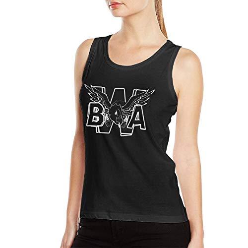 Maria M Arnold Kevin Gates Logo Women Music Band Comfortable Muscle Bodybuilding Tank Top Shirt Sleeveless Shirt Black - Arnold Gate