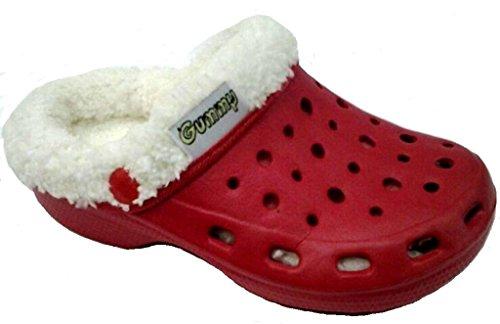 dema - Zapatillas de estar por casa de Material Sintético para mujer rojo rojo 36