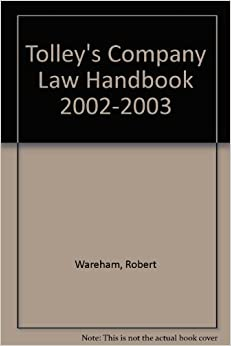 Tolley's Company Law Handbook 2002-2003