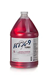 RTX-9 TURBO Maximum Strength All Purpose Cleaner Degreaser: 1 Gallon Jug Ready-to-Use