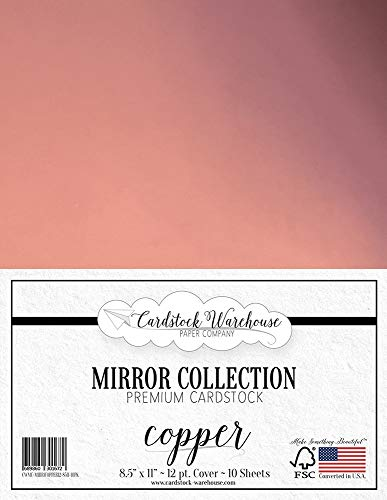 Mirror Copper Mirricard Premium Cardstock 8.5